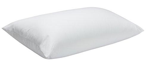 Pikolin Home - Feste Faser Kopfkissen, Milbenschutz, mit doppeltem Bezug 100% Baumwolle, Festigkeit mittel-fest, 50 x 80 cm, Höhe 20 cm