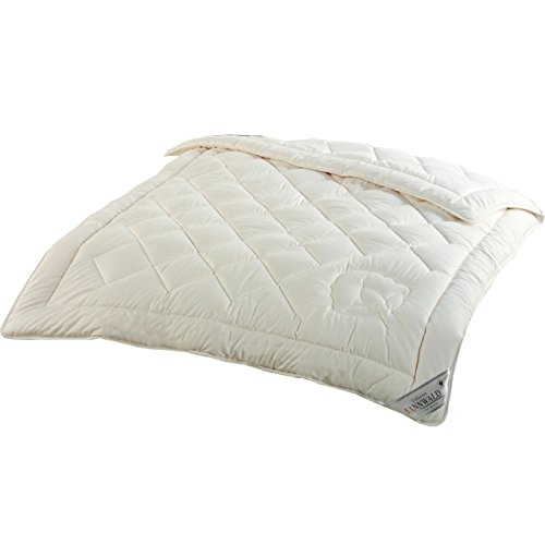 Sannwald kbA-Baumwolle - 135x200 cm, Sommer Bettdecke in kdA BIO Qualität