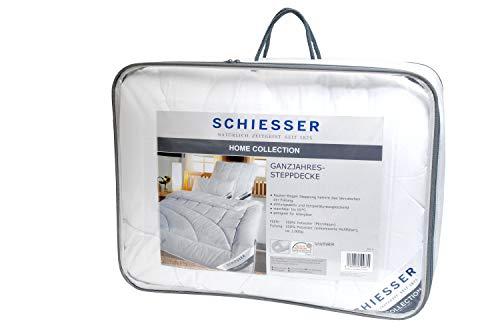 Schiesser ganzjahres Steppbett / Bettdecke / 155 cm x 220 cm / Allergiker geeignet / verschiedene Größen erhältlich