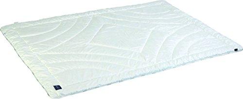 Schlafkult Bettdecke Ganzjahres-Single Cotton Smooth Premium, Baumwolle, weiß, 155 x 200 cm
