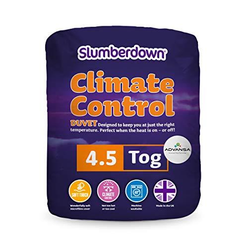 Slumberdown Climate Control Bettdecke mit Klimakontrolle, Baumwoll-Polyester-Gemisch, Einzelbett
