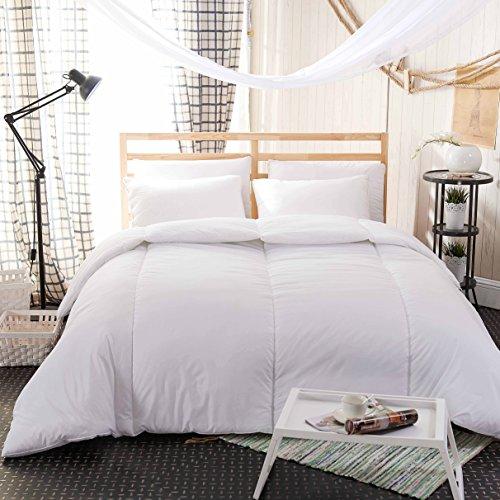 Sonia MOER Premium Soft Touch Hohlfaser-Bettdecke–9,0, 100 % Polyester, Weiß, Doppelbett