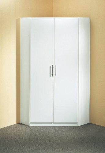Wimex Kleiderschrank/ Eckschrank Runner, (B/H/T) 95 x 198 x 95 cm, Weiß