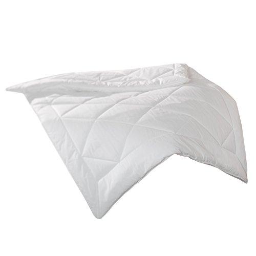 Zollner Bettdecke ca. 135x200 cm, Füllgewicht ca. 2X 550 g, Für Allergiker