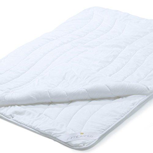 aqua-textil 4 Jahreszeiten Bettdecke 200 x 220 Ganzjahres Decken Steppbett Ambiente Zudecke Vier-Jahreszeiten Decke 1000756