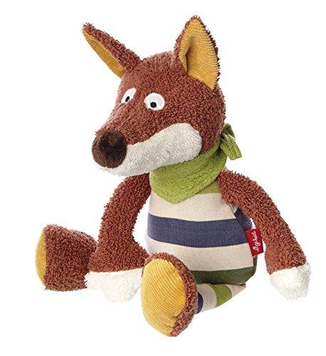 sigikid, Mädchen und Jungen, Spielfigur Fuchs, Fudallo Fox, Braun/Grün, 41338