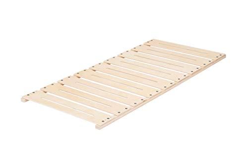 Gigapur Plattenrost P1 für Liegefläche 90x200cm, stabiles Schichtholz, werkzeuglose Montage