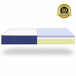 BedStory 7 Zonen Orthopädische Matratze 160x200cm, härtegrad H3 hochwertige Memoryschaum Matratze mit Lavendel-Essenz, Höhe 18cm, ergonomische Matratze für erholsamen Schlaf, 10 Jahre Garantie