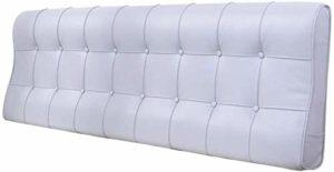 Lanrui Polsterbett Rückenpolster Kopf Abdeckung Rückenkissen for das Bett mit den Armen Größe: 180x12x58cm (Color : A, Size : 200x12x58cm)